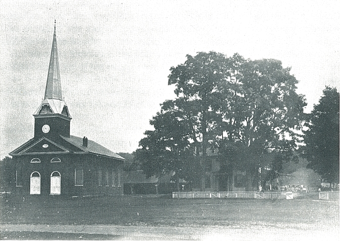 OLD BRICK CHURCH - 1907