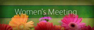 Women's Meeting @ The Brick Chruch | Clarendon | Vermont | United States